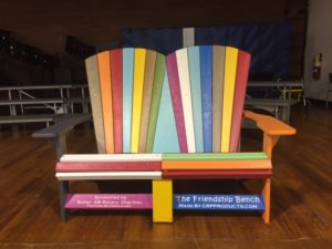Our McQuistion School Friendship Bench
