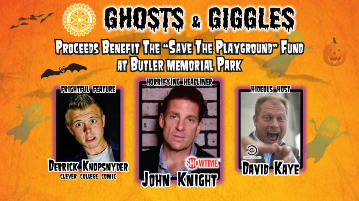 Ghosts & Giggles Fundraiser