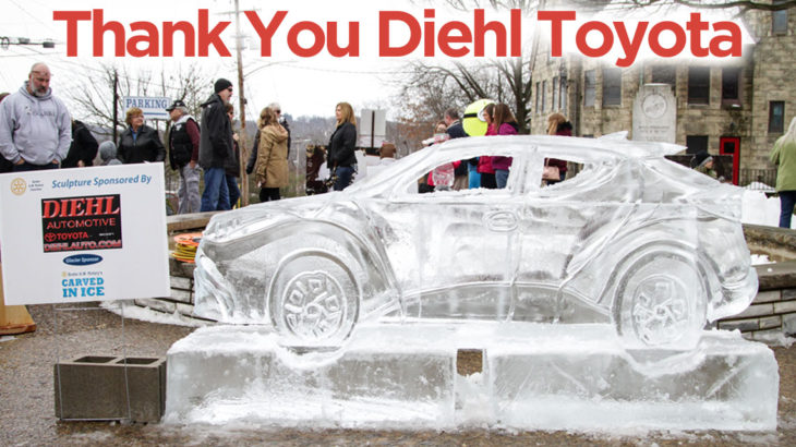 Carved In Ice -Diehl Toyota Main Sponsor 2019
