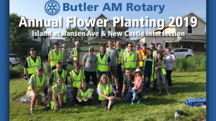Hansen Flower Planting 2019