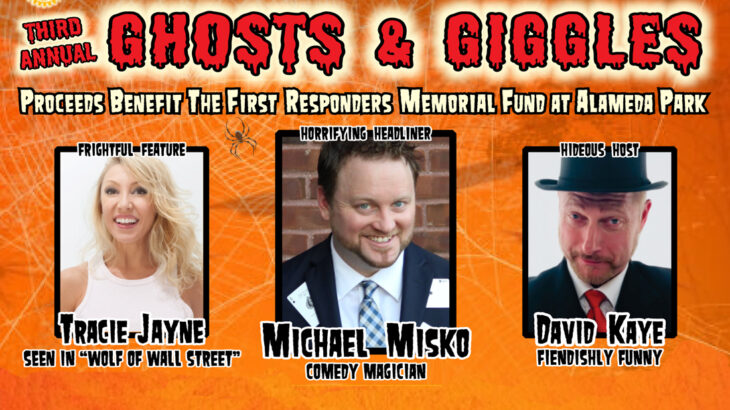 Ghosts & Giggles 2021 Fundraiser